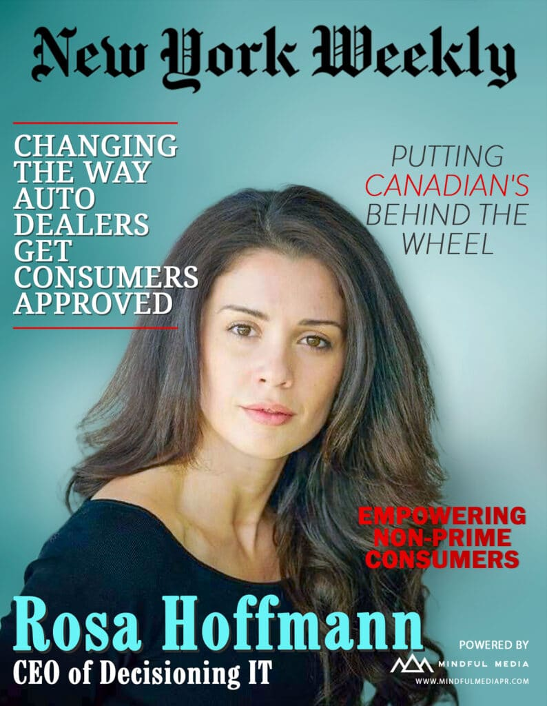 CEO of DecisioningIT, Rosa Hoffmann, Shares How Dealers are Increasing Sales and Customer Satisfaction